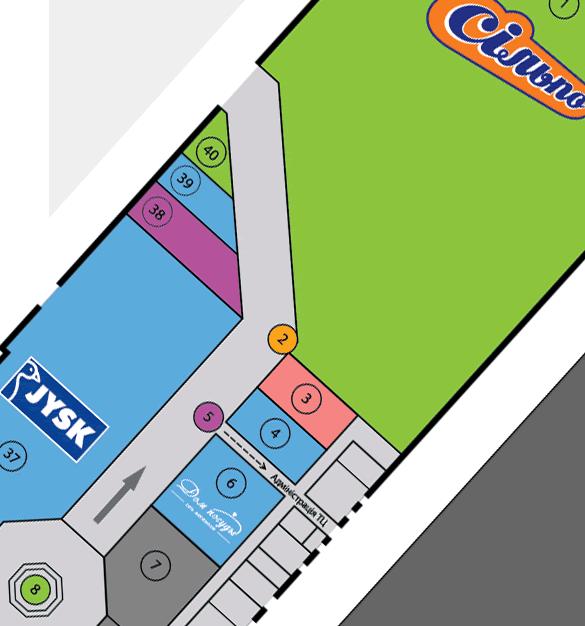 Карта ТЦ
